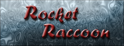 Rocket Raccoon Banner by SavvyRed