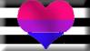 Biromantic Heterosexual Pride Flag by SavvyRed