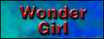 Wonder Girl Banner by SavvyRed