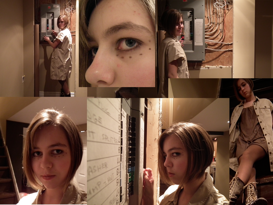 closet cosplay HUMAN GlaDOS by ilovezimandgir123