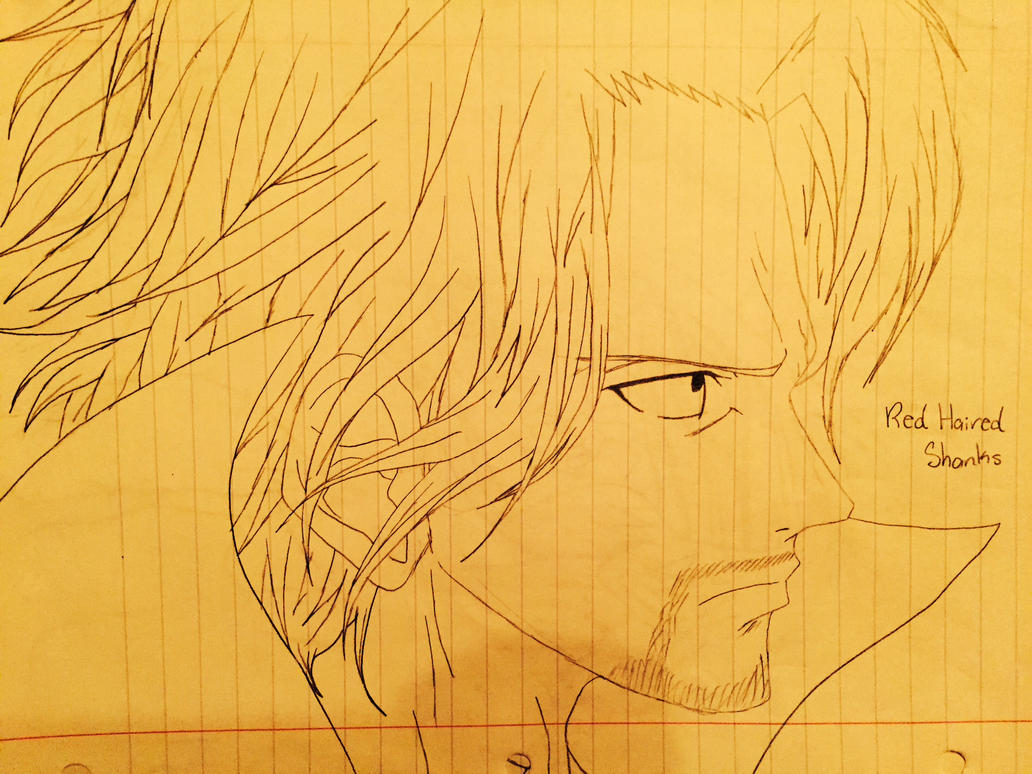 Red-Haired Shanks by SlyJakRatchetGamer