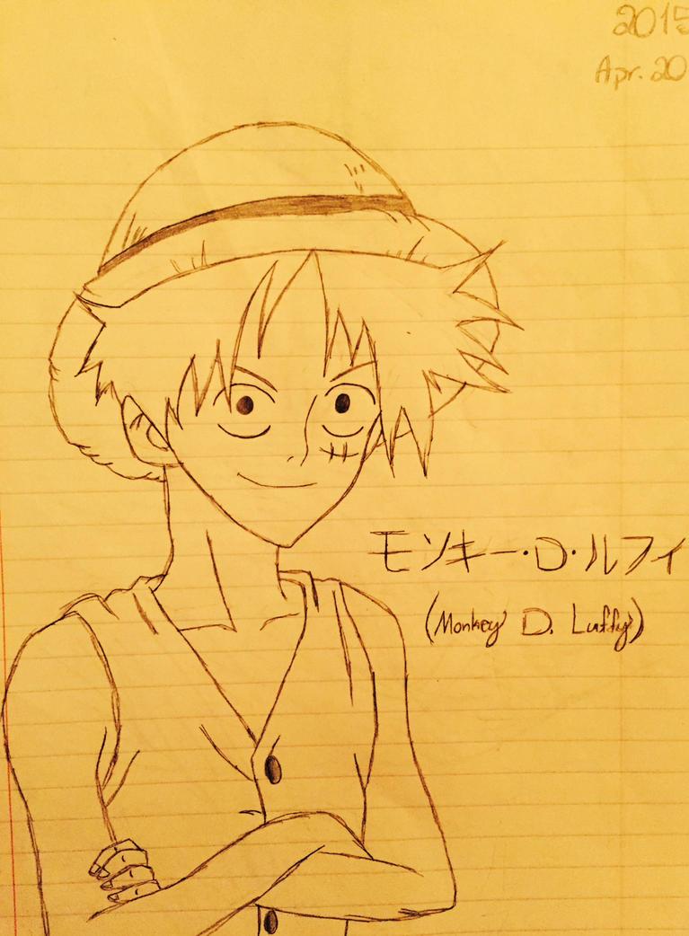Monkey D. Luffy by SlyJakRatchetGamer