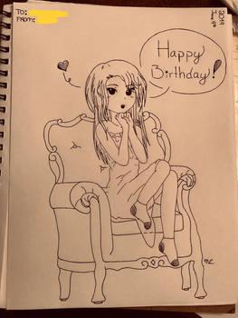 Happy Birthday from Velvet
