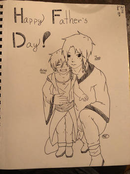 Happy Fathers Day from Aiko and Jun