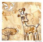 Coffee giraffe