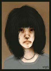 a girl by veeae
