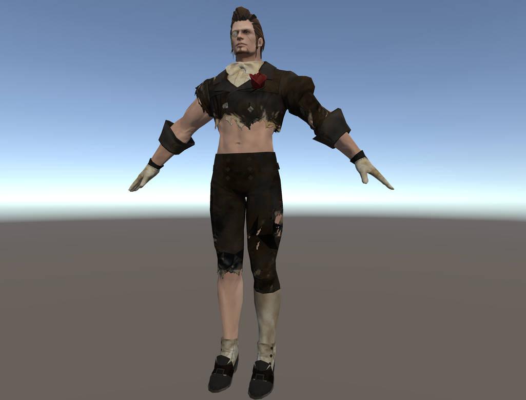 Vrchat kingdom hearts avatar