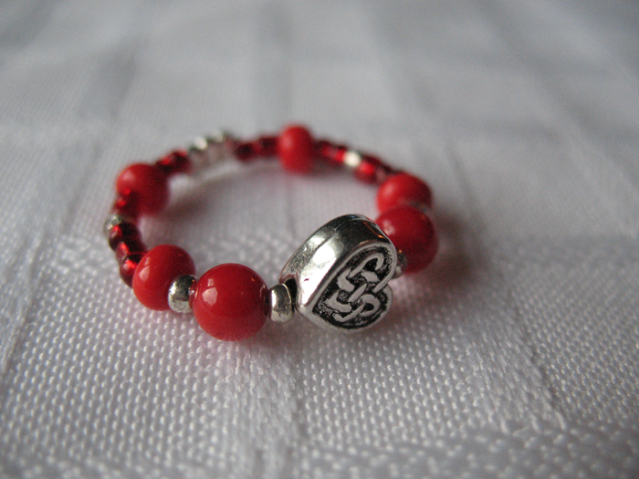 Celtic Love Red by sampdesigns