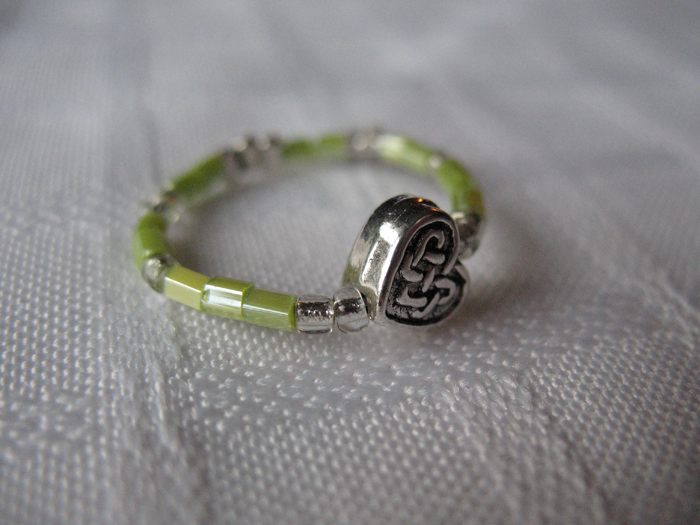 Celtic Love Green by sampdesigns