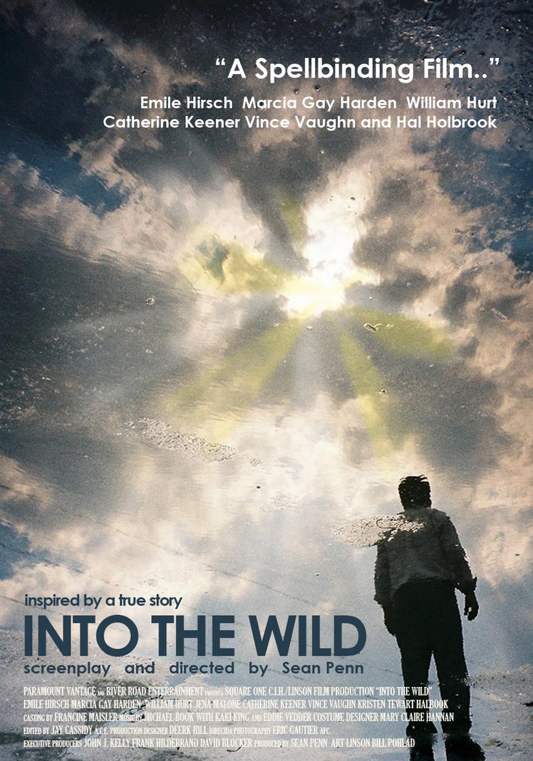 Into The Wild - Movie Poster by n on DeviantArt