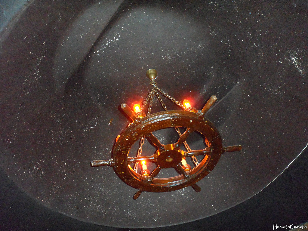 Ship wheel chandelier by inktheechidna on deviantart ship wheel chandelier by inktheechidna arubaitofo Images