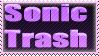 Sonic trash stamp by ReachingRespite