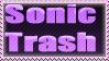 Sonic trash stamp by ReachingRespite