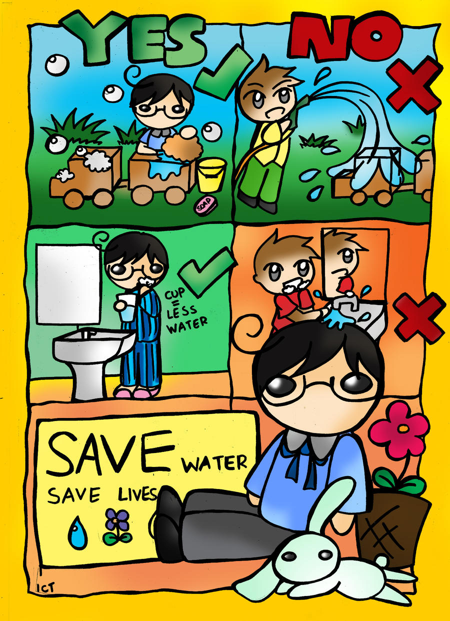 Water pollution posters for kids