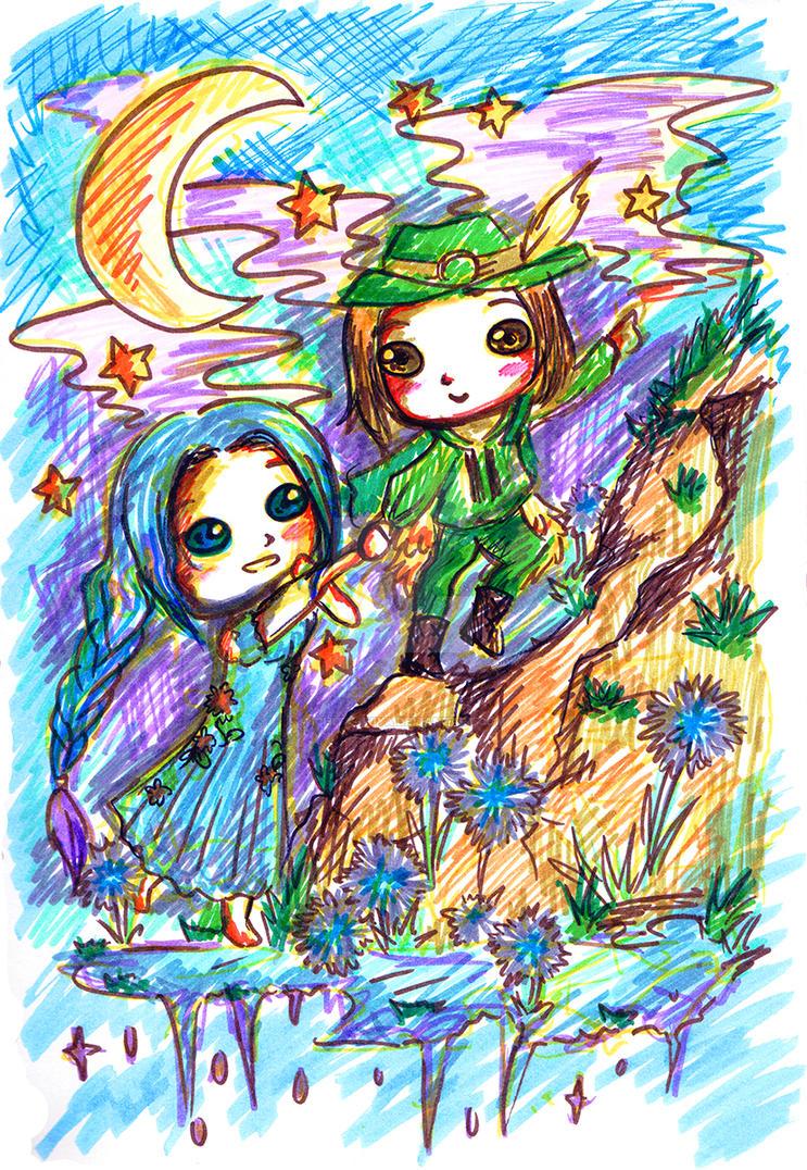 The Princess and The Poet Prince by IChiTa--WiYa