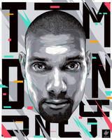 Portrait Tim Duncan