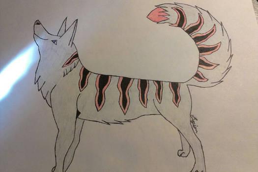 IT is a wolf