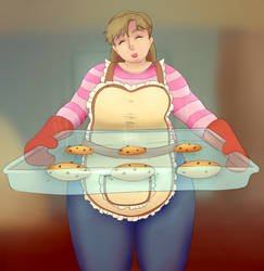 Fresh, Hot Cookies in Your Area (JJBA) by originalanon