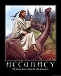 Accuracy Demotivator