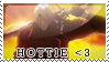 Dante is a Hottie Stamp by Ruumatsuku
