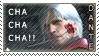 Dante with Rose Stamp by Ruumatsuku