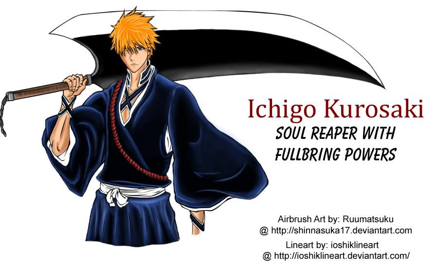 ichigo the fullbring reaper by ruumatsuku on deviantart