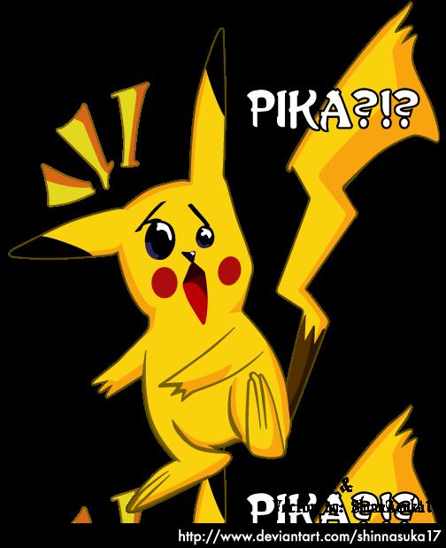 Surprised Pikachu by Ruumatsuku on DeviantArt