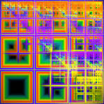 Sierpinski's Windows by acidrainbow01