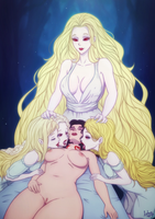 The Vampire Mother. Part 2 Baptism. art by Inhus by renz5070