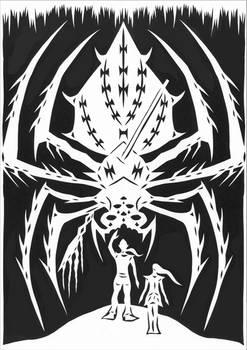 Ice spider monster. Casper Richter