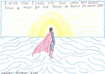 Hope. Superman in the sunlight where he belongs.