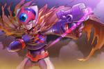 Megaman Zero_Axl by Fukutan