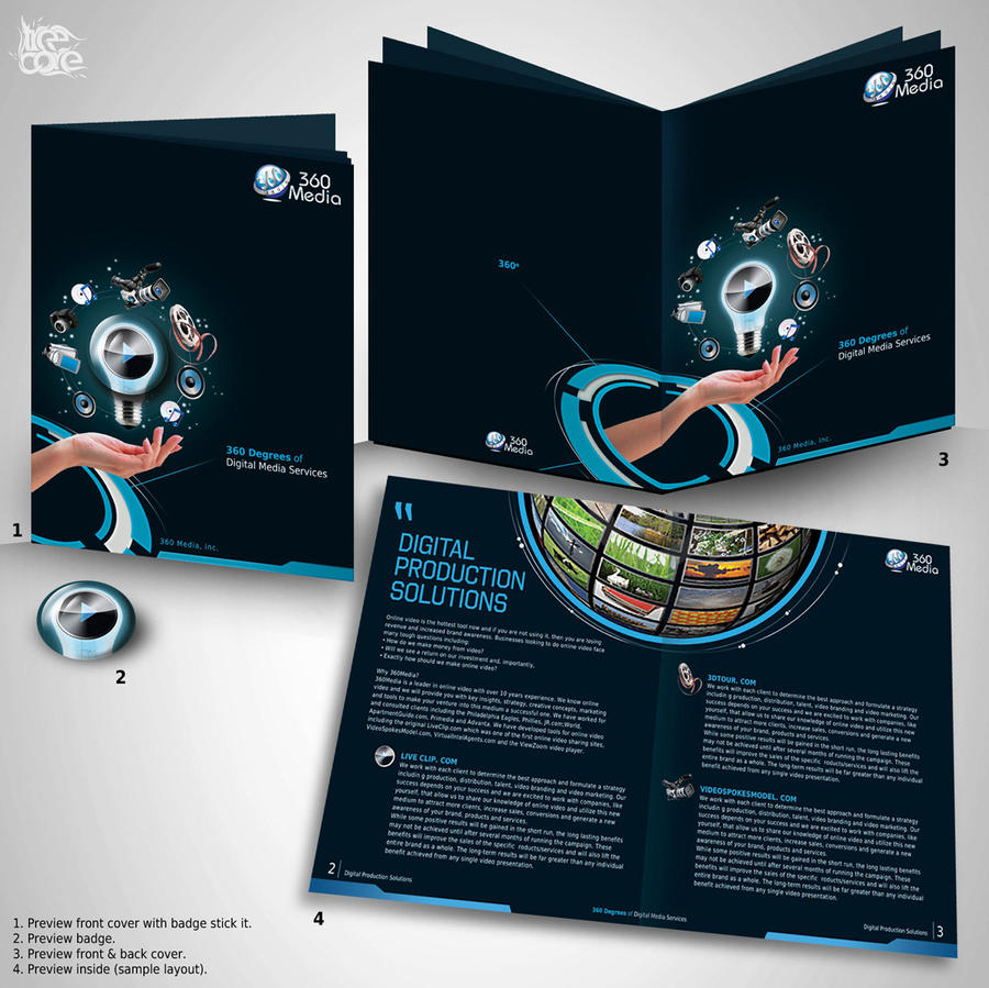 360Media Brochure by treecore