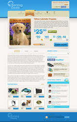 Barking Deals Homepage by treecore