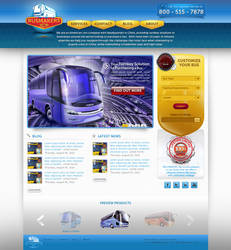BusMakers Homepage by treecore