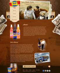 Dad's Classic Sodas Insidepage by treecore