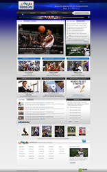 GameDay HomePage by treecore