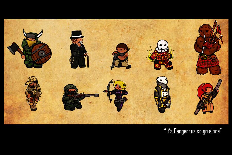 Shadowrun OC's by Yoblicnep