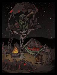 stalker nest by Yoblicnep