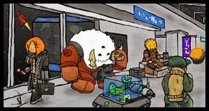 Space Port by Yoblicnep
