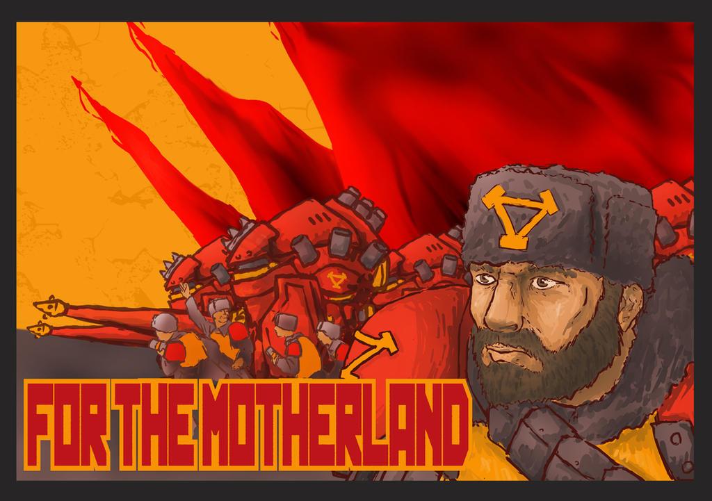 Khadoran Poster by Yoblicnep