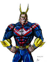 All Might by Pharigan-Zero