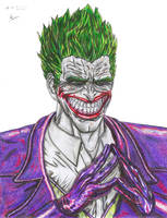 Joker's evil by Pharigan-Zero