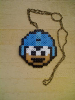 Megaman Perler beads
