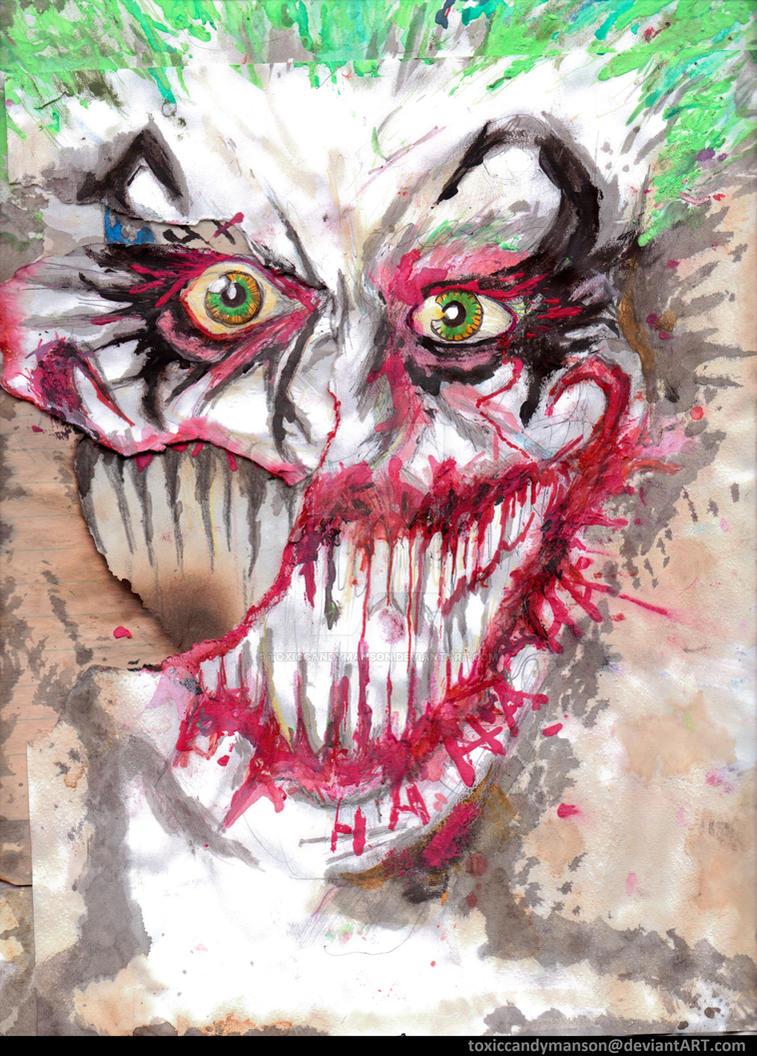 The Joker's Self Portrait 2 by toxiccandymanson