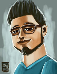 First Speed painting by ErickMartz