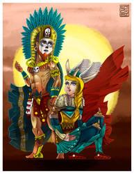 Guerreros by ErickMartz