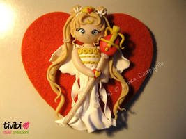 Sailor Moon (Princess Serenity) by tivibi