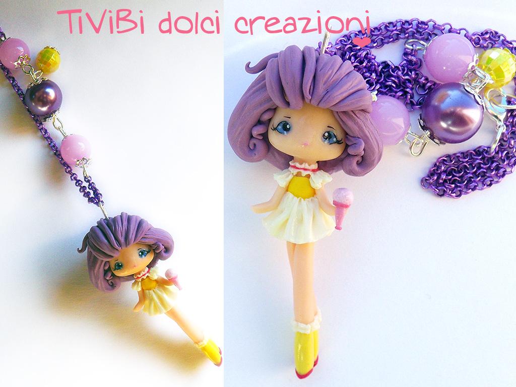 Creamy Mami Necklace by tivibi