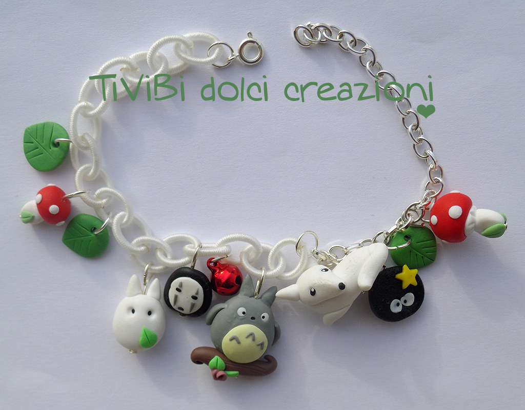 Studio Ghibli loving bracelet Version 3 by tivibi